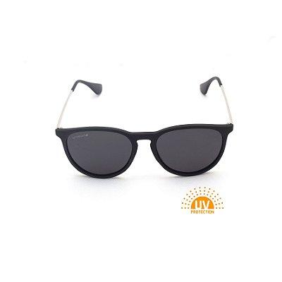 Óculos de Sol Erika Preto Lente Black Total Afrikan