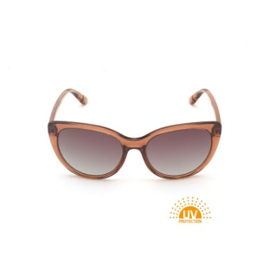 Óculos de Sol Acrílico Marrom Lente Marrom Polarizada Afrikan