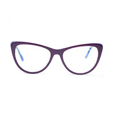Armação para Óculos de Grau Gatinho Marylin Monroe