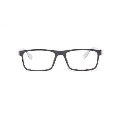Armação para Óculos de Grau Masculino Titanium Preto