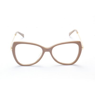 Armação para Óculos de Grau Feminino Borboleta Nude