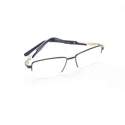 Armação para Óculos de Grau Masculino com Plaqueta Anatômica