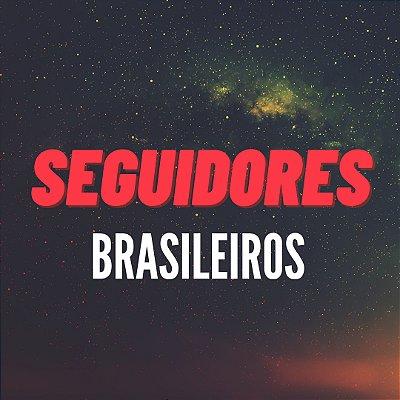 Seguidores Reais Brasileiros