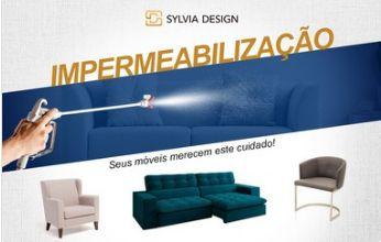 Impermeabilização sofa 02 assentos + chaise