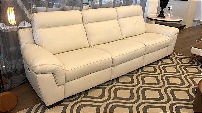 Sofá U303 10BL com três assentos elétricos reclináveis - 2,90m- Natuzzi Group