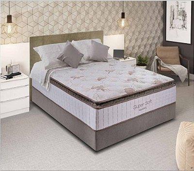 Conjunto colchão + cama box Super Soft