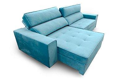 Sofá retrátil e reclinável Bilbao 2,90m