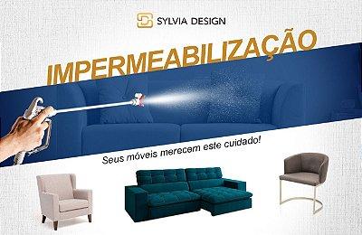 Impermeabilização sofa de canto