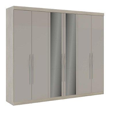 Guarda roupa Leblon 6 portas com espelho