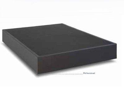 Base Cama Box Londres Cinza 1,38 x 1,88