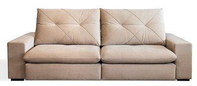 Sofá Retrátil e Articulado Cooper 2,70 m - com Molas ensacadas