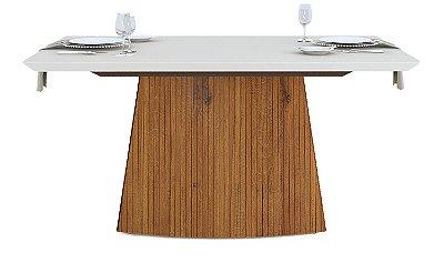 Conjunto de mesa de jantar com 6 cadeiras Furton
