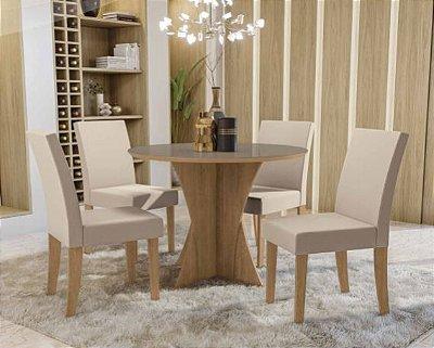 Mesa de jantar com 4 Cadeiras Fontana I