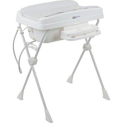 Banheira de Bebe Desmontavel Burigotto Millenia+ Branco