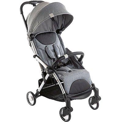 Carrinho de Bebe Compacto Chicco Goody Plus Leve Cool Grey