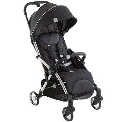 Carrinho de Bebe Compacto Chicco Goody Plus Leve Graphite