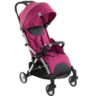 Carrinho de Bebe Compacto Chicco Goody Plus Leve Pink Rosa