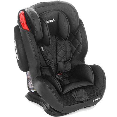 Cadeirinha para Carro Infanti Cockpit Carbon Preto 9 a 36kg