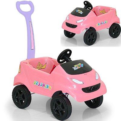 Carrinho de Passeio para Bebe XPlast Baby Car Princess Rosa
