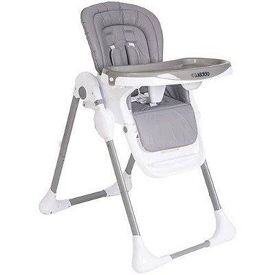 Cadeira de Refeição Kiddo Smile Cinza