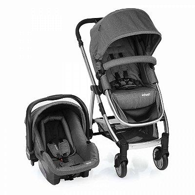 Carrinho de Bebe Bebe Conforto Infanti Epic Lite Grey Classic