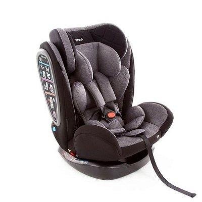 Cadeirinha para Carro Infanti Vita Grey Fuzz 0 a 36 Kg