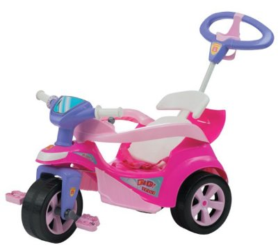 Triciclo Baby Trike Evolution Rosa Biemme