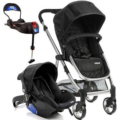 Carrinho de Bebe Bebe Conforto e Base Isofix Infanti Epic Lite Onyx