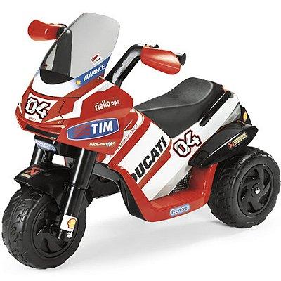 Moto Elétrica Ducati Desmosedici 6v Peg-pérego