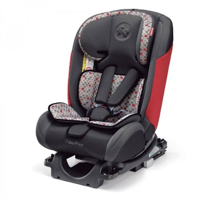 Cadeirinha para Carro Fisher Price All Stages Fix Vermelha 0 a 36 Kg