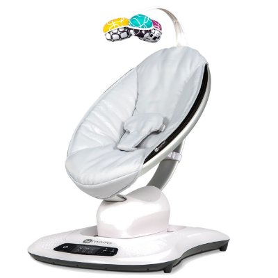 Cadeira De Descanso 4moms Mamaroo 4.0 Grey Classic Cinza