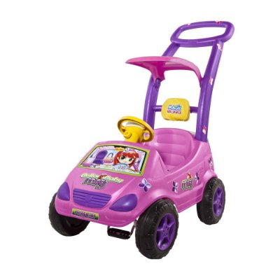 Carrinho Roller Baby Versátil Meg Rosa Magic Toys