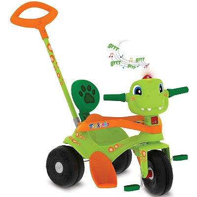 Triciclo Tonkinha Dino Passeio e Pedal Bandeirante