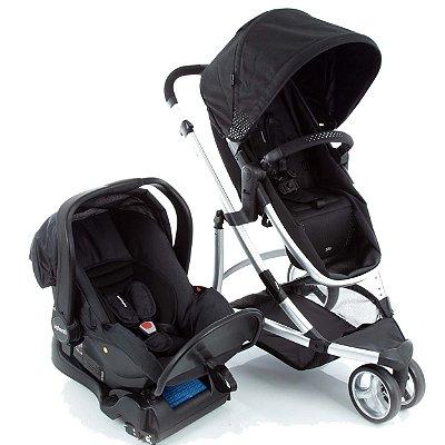 Carrinho de Bebe Bebe Conforto e Base Infanti Sky Black Classic Preto
