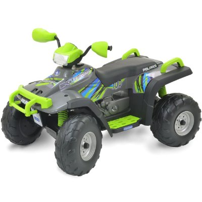 Quadriciclo Peg-Perego Polaris Sportman 700 Twin Lime 12v