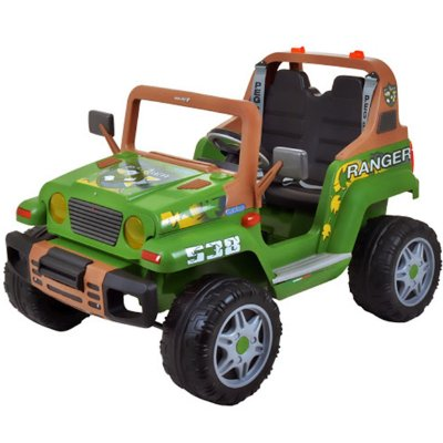 Carro Eletrico Jipe Peg Perego Ranger 538 12v Verde