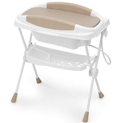 Banheira para Bebe Galzerano Premium Plastica Sand Bege