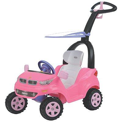 Carrinho de Passeio Biemme Push Baby Easy Ride Rosa Andador