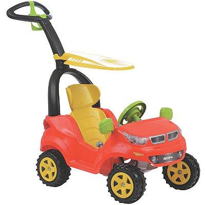 Carrinho de Passeio Biemme Push Baby Easy Ride Andador Vermelho