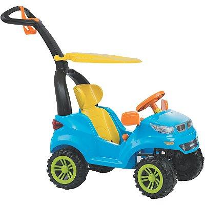 Carrinho de Passeio Pedal Biemme Push Car Easy Ride Azul