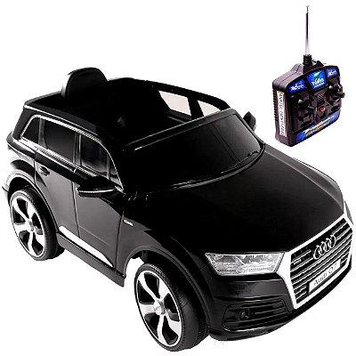 Carro Eletrico Belfix Audi Q7 SUV 12V Controle Remoto Preto