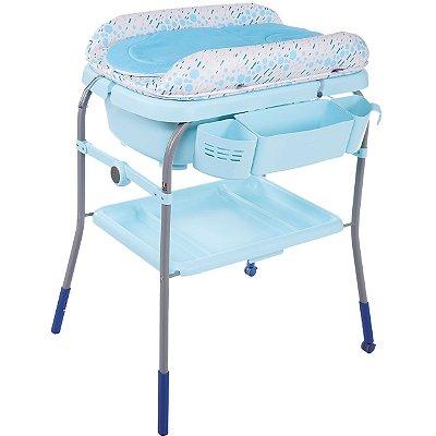 Banheira com Trocador Chicco Cuddle & Bubble Ocean Azul
