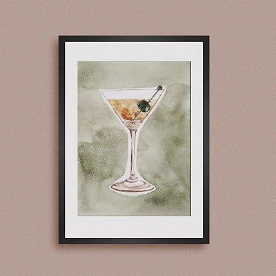 Quadro Green Martini