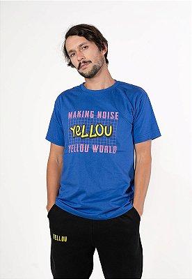Camiseta Yellou Making Noise Azul