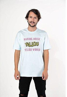 Camiseta Yellou Making Noise Azul BB