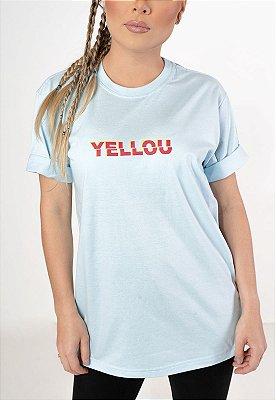 Camiseta Who Yellou? Azul BB