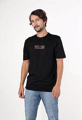 Camiseta Yellou Preta
