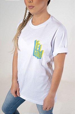 Camiseta Yellou! Branca