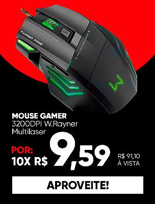 Mouse Gamer Black Friday