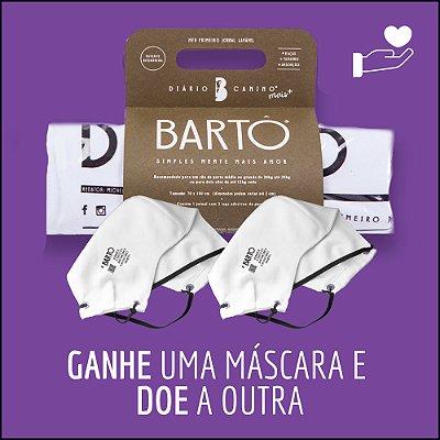 KIT DIÁRIO CANINO MAIS + MASCARA BRANCA